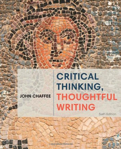 CRITICAL THINKING,THOUGHTFUL WRITING