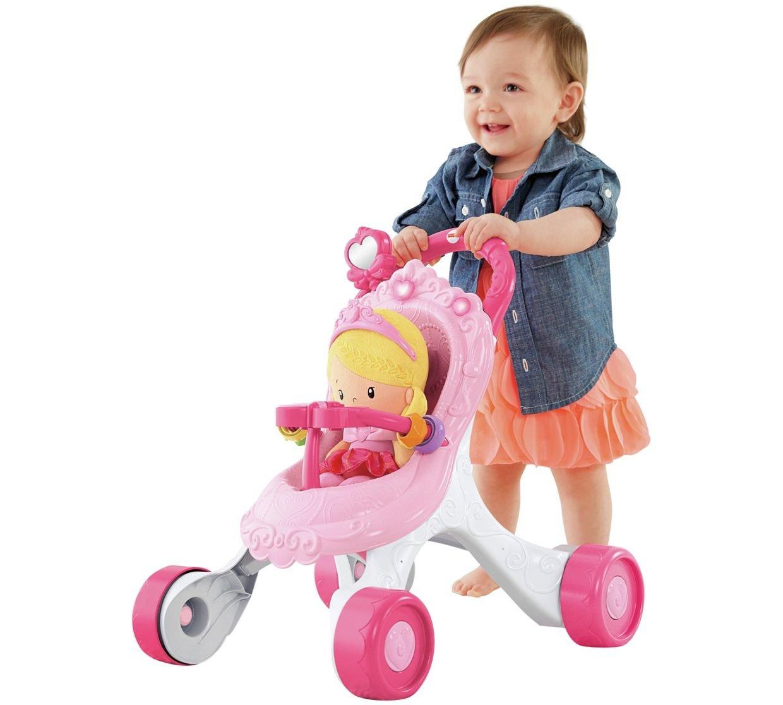 Fisher-Price - Andador musical para mamá de princesa: Amazon ...