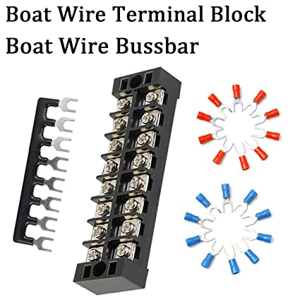 Magnificent Amazon Com Shangyuan Boat Wire Terminal Block Buss Bar For Wiring Cloud Nuvitbieswglorg
