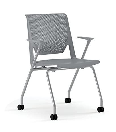 Haworth Very Side Chair Hard/Soft Casters - Fog Arms - Perforated Back -  sc 1 st  Amazon.com & Amazon.com: Haworth Very Side Chair: Hard/Soft Casters - Fog Arms ...