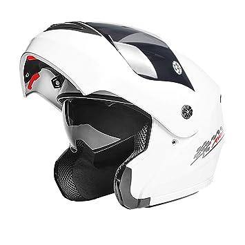 Ysayc Casco de Moto de los Amantes Al Aire Libre Ligero Multifunción Protección de Ciclo de