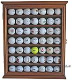 49 Golf Ball Display Case Cabinet Holder Rack