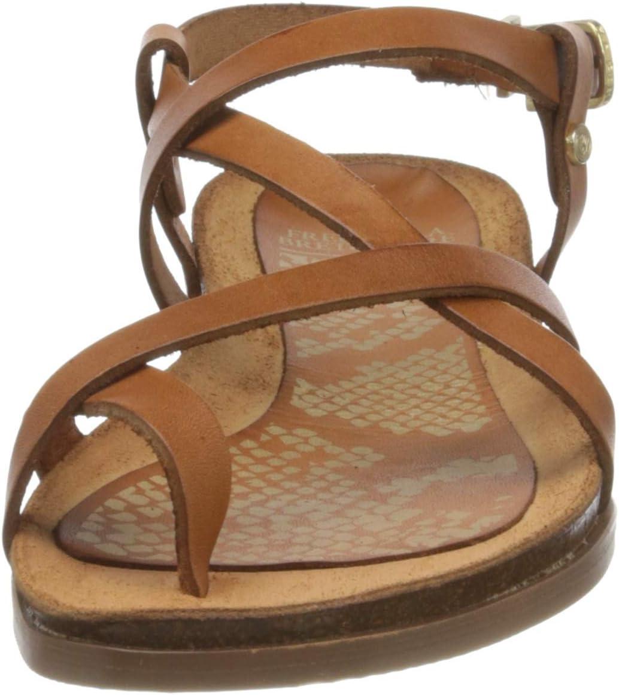 Fred de la Bretoniere FRS0654 dames sandalen met riempjes Braun (Brown 3158)