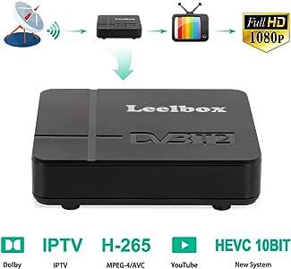 Decodificador TDT Terrestre - Leelbox Digital TV HD Euroconector ...