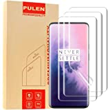 [3-Pack] PULEN for OnePlus (7 Pro) Screen Protector,LiquidSkin Screen Protector HD Clear Bubble Free Anti-Fingerprints TPU Film for OnePlus 7 Pro,Lifetime Replacement Warranty