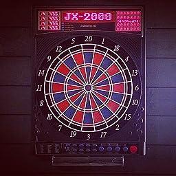 jeu de fl chettes lectronique dartona jx2000 tournoi pro cible de tournoi avec 41 jeux et. Black Bedroom Furniture Sets. Home Design Ideas