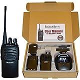 Klein Electronics BLACKBOX+-U Blackbox+ Professional UHF Two-Way Radio, 4 Watt power, 16 Channel with Scan, 2-Tone Encode/Decode, VOX Voice activated, Voice Enunciation for each channel