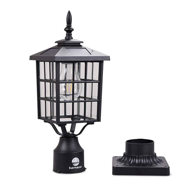 Lighting Fixture Store: Kemeco ST4224Q-A LED Cast Aluminum Solar Post Light