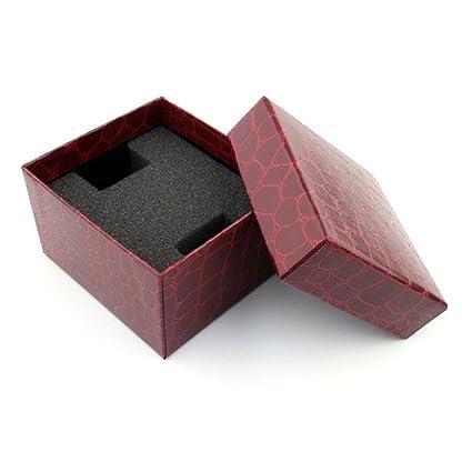 Caja de reloj, Winkey Crocodile durable presente caja de regalo para pulsera reloj de pulsera