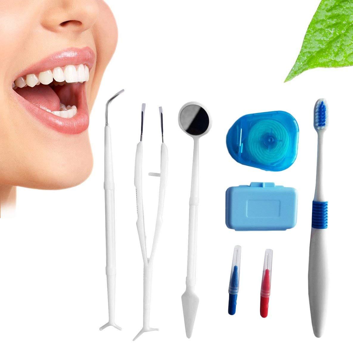 Cuidado dental Cepillo de dientes Kit de dientes de ortodoncia Cepillo de dientes Cepillo interdental: Amazon.es: Salud y cuidado personal