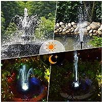 COCOMIA 3.5W Solar Fuente Bomba, LED Solar Bomba de Estanque Kit, Fuente de Jardín Solar para Estanque de Jardín y Fuentes de La Bomba de Fuente Solar Bomba de Agua con Soporte