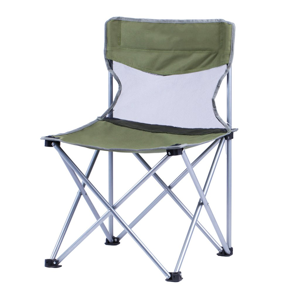 LDFN Portable Camping Chair Freien Skizze Strand Grill Multifunktions- Eisen- Und Oxford-Sessel,D