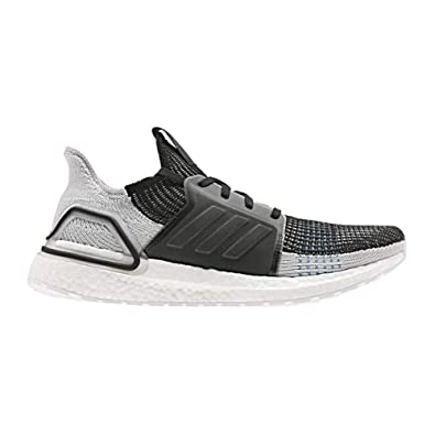 03c52c832b1c2 adidas Men s Ultraboost 19 Running Shoe Black Grey six Shock Cyan 5 ...