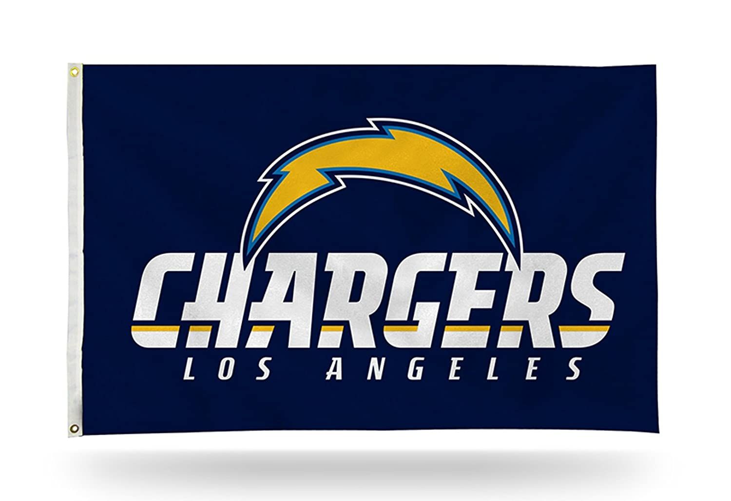 Los Angeles Chargers City Name Rico 3x5 Flag w/Grommets Outdoor House Banner Football