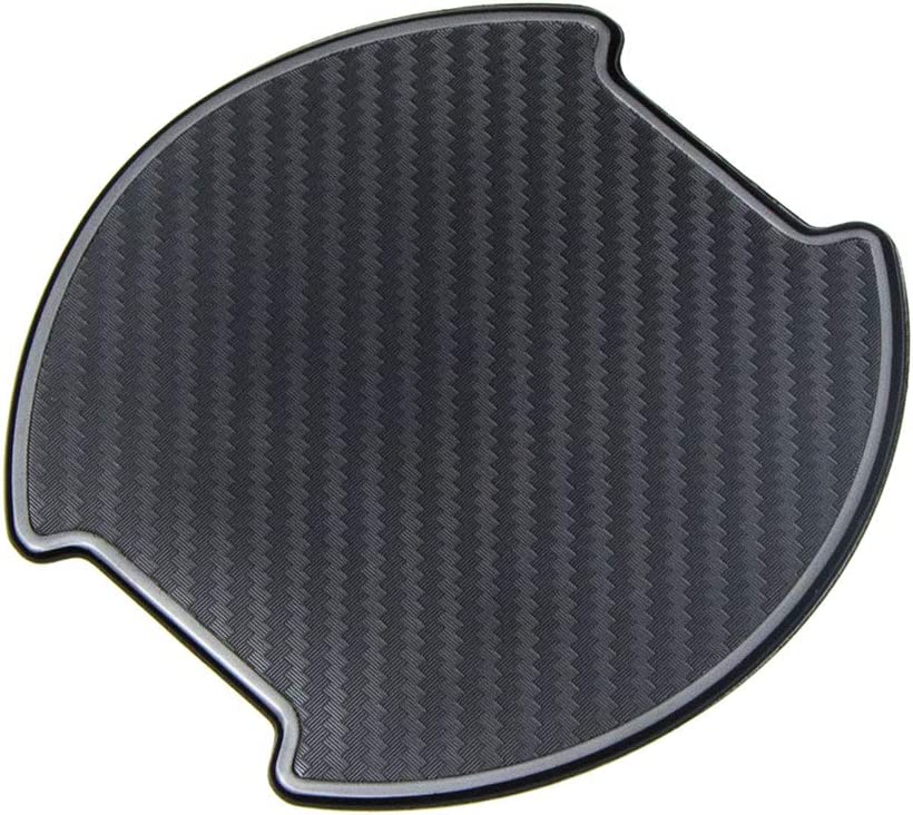 TANGSEN 4Pcs Universal TPU 3D Carbon Fiber Texture Car Door Handle Paint Scratch Personalize Protective Pad Protector Sticker Protection Cover Scotchguard Clear Guard Film S
