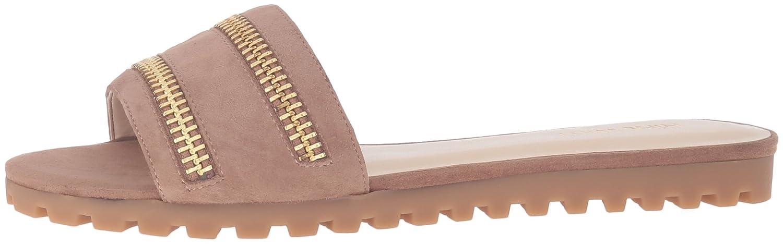 Nine West Women's Schaffer Suede Dress Sandal B01HDTUQHW 9 B(M) US|Natural