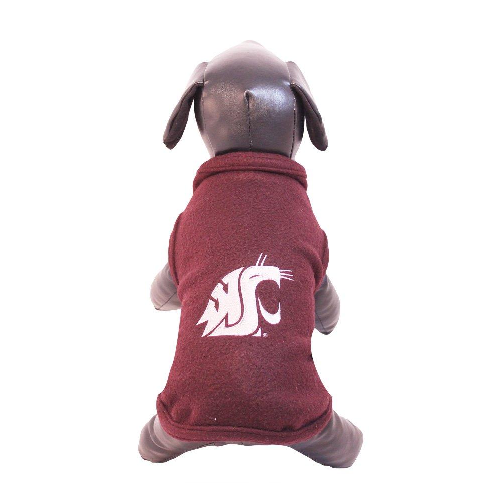 All Star Dogs NCAA Washington State Cougars Polar Fleece Dog Sweatshirt, XX-Large