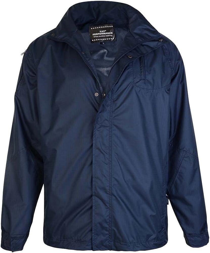 Kam Jeanswear Mens Waterproof Jacket