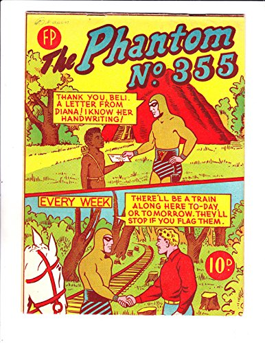 (The Phantom No 355 1960's? New Zealand Railroad Tracks Cover)