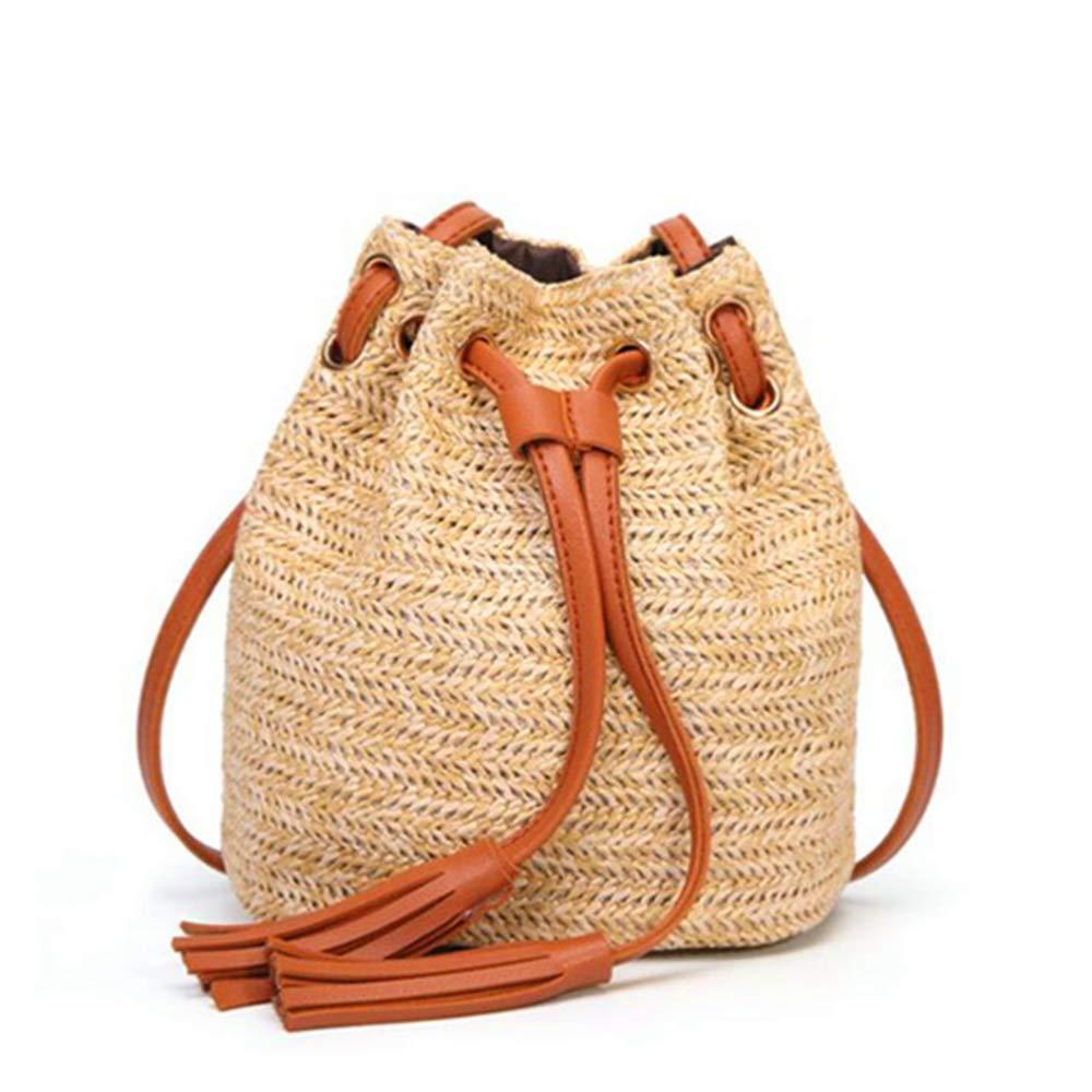 Woven Rattan Bag Straw...