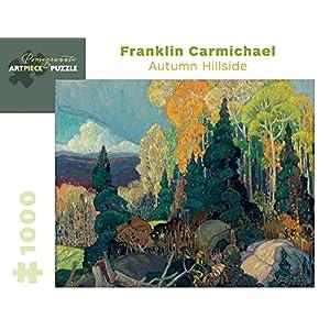 Franklin Carmichael Autumn Hillside 1000 Piece Jigsaw Puzzle Inglese Copertina Rigida 15 Ago 2014