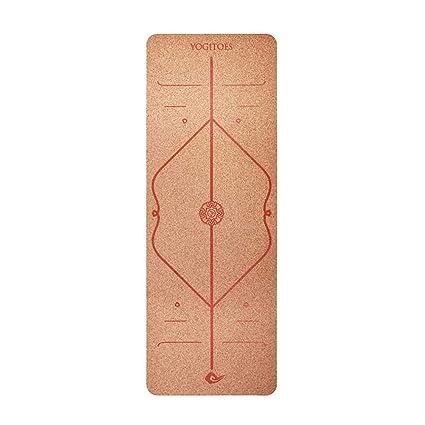 Rejoicing - Colchoneta de Yoga, Color Rojo