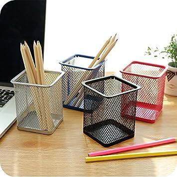 Gespout Multifunctional Hollow Flower Pencil Holder Plastic Pen Holder Makeup Brush Holder Stationery Storage Barrels