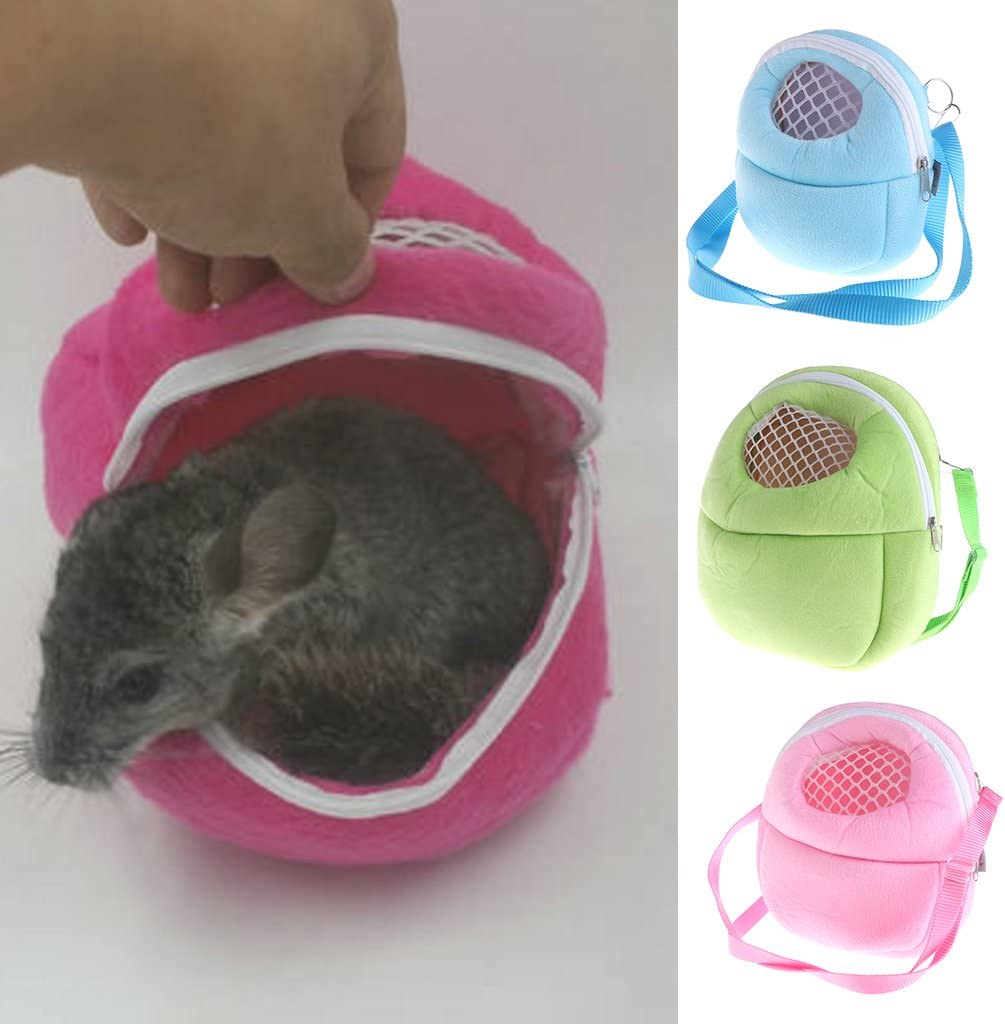 M Verde CADANIA Pet Hanging Bag Piccolo Rat Hamster Hedgehog Chinchilla Ferret Carrier Warm