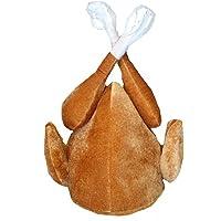 Brown Turkey Christmas/Thanksgiving Fancy Dress Costume Hat (Cap/Hat)