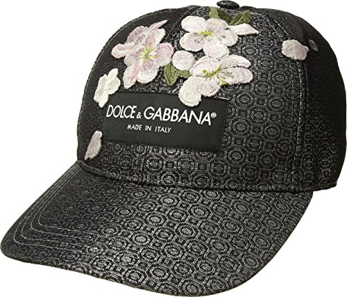 Dolce & Gabbana Men's Jacquard Baseball Cap Multi 59 (US - Hat Dolce Gabbana And
