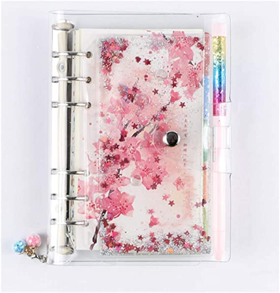 A6 Cherry Blossoms 40 Sheets Planner Diary Insert Refill Schedule Organiser