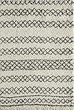 Cheap Momeni Rugs MAYA0MAY-3IVY93C6 Maya Collection, Ultra Thick Pile Shag Area Rug, 9'3″ x 12'6″, Ivory