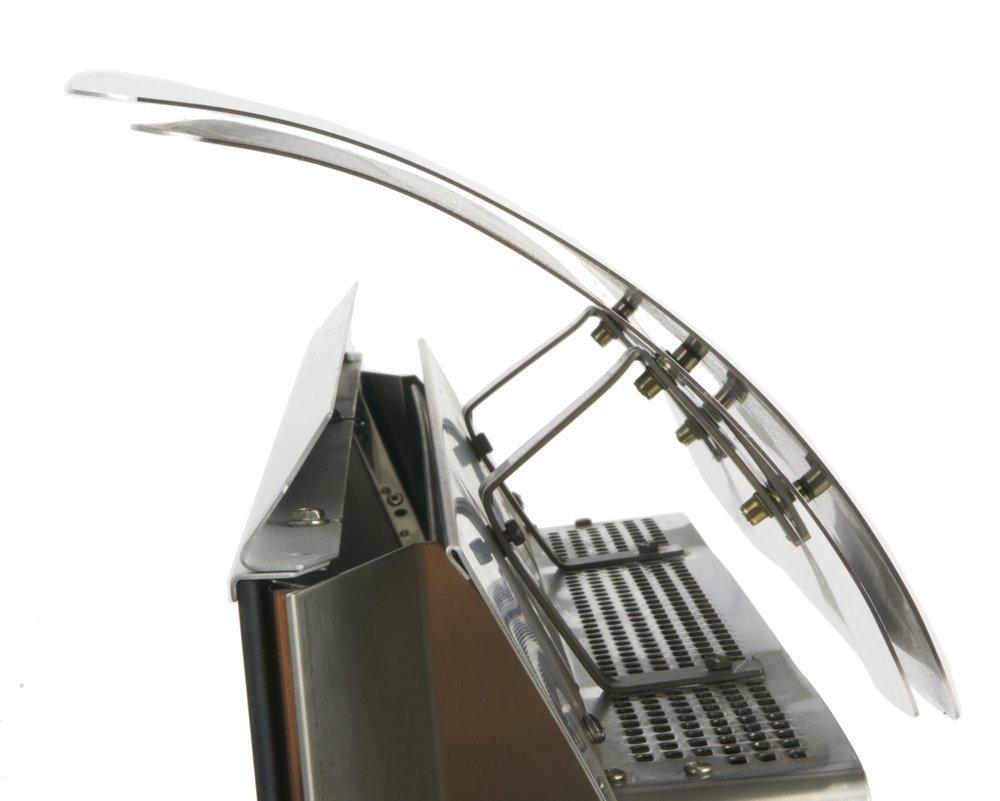 Bromic Heating BR-DEFPLA5 500 Series Platinum Heat Deflector, Stainless Steel by Bromic Heating