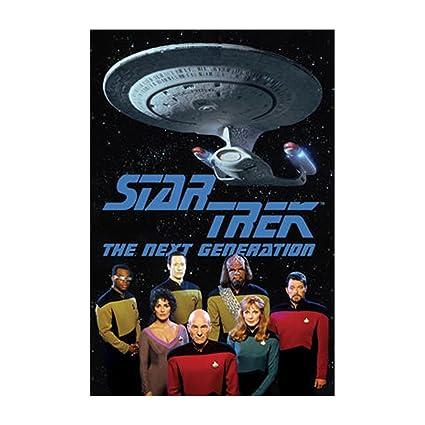 Star Trek Next Gen Cast Poster 24 X 36in