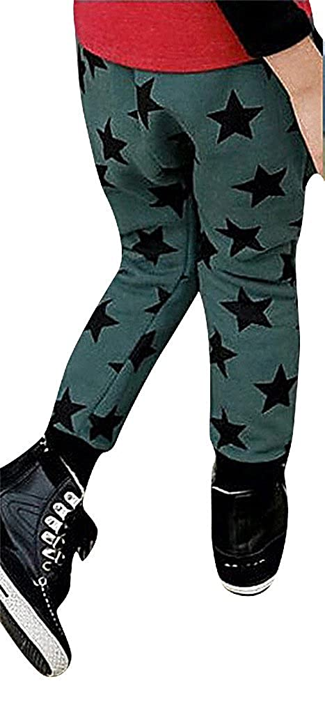 Sweety Girls Pull-On Super Soft Trousers Basic Pants Stars Print Baby Boys