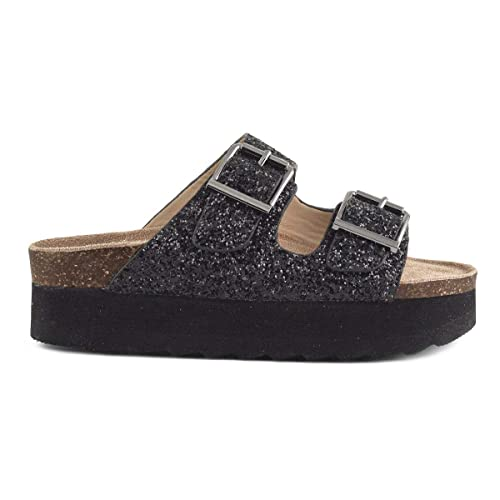 separation shoes 8a00f 895ed Colors of california Scarpa HC.BES020 Donna Nero: Amazon.it ...