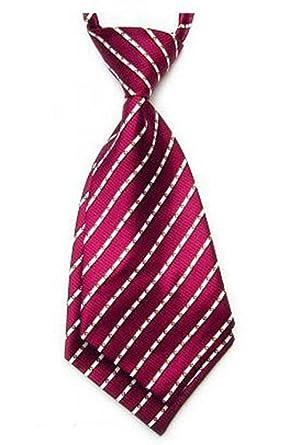 Yongshida para mujer de poliéster cuello talla única corbata rojo ...