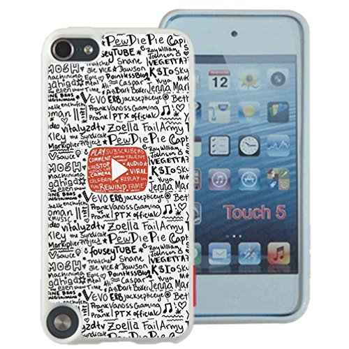 Youtube Case Cover Your iPod Touch 5 Case ( Black Hard Plastic )