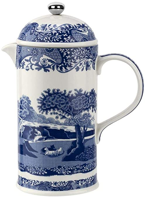 Spode Cafetera Italiana Blue 28 oz: Amazon.es: Hogar