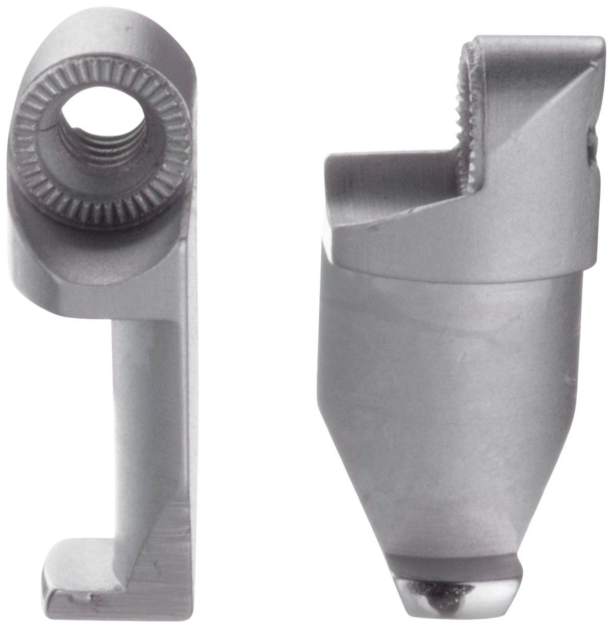 Brown /& Sharpe TESA 079112126 Flat Bottom Adjustable Contact Arm Ends for Bores = 6mm Hexagon Metrology B005007H56