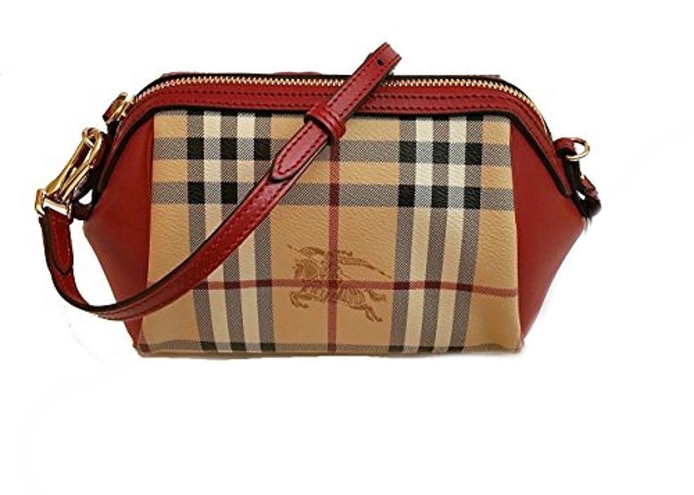 119eb9a14d61 Burberry Haymarket Panels Blaze Mini Crossbody Bag  Handbags  Amazon.com