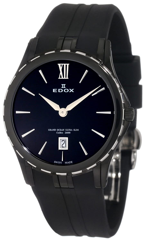 Amazon.com: Edox Grand Ocean Ultra Slim Quartz 26024-357N -NIN Ladies watch: Watches