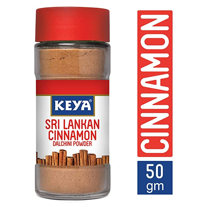 Keya Sri Lankan Cinnamon Powder (from Ceylon), 50 grams