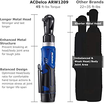 ACDelco Tools ARW1209-K9-K92 Ratchet Wrenches product image 5