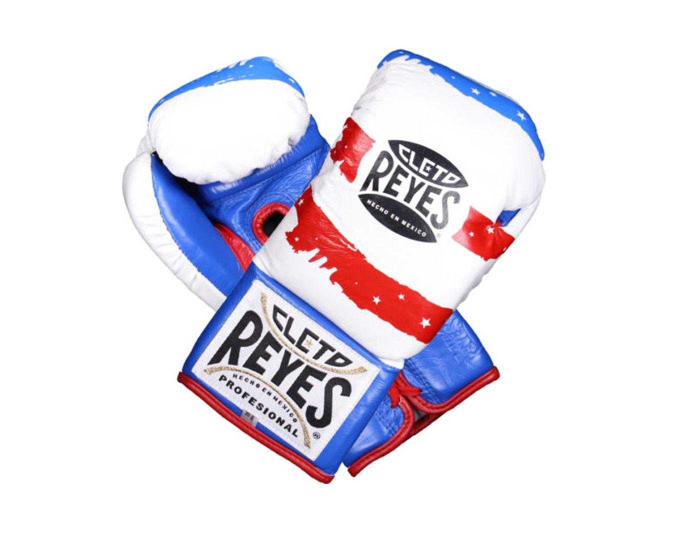 Cleto Reyes Professionalボクシンググローブ USAフラッグ 8oz