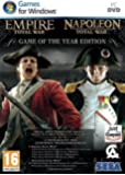 Total War : Empire + Total War : Napoleon - édition jeu de l'année (4 DVDs)