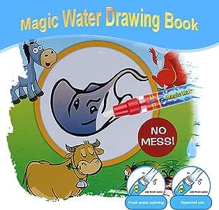 Libro de dibujo de agua Raitron para colorear con