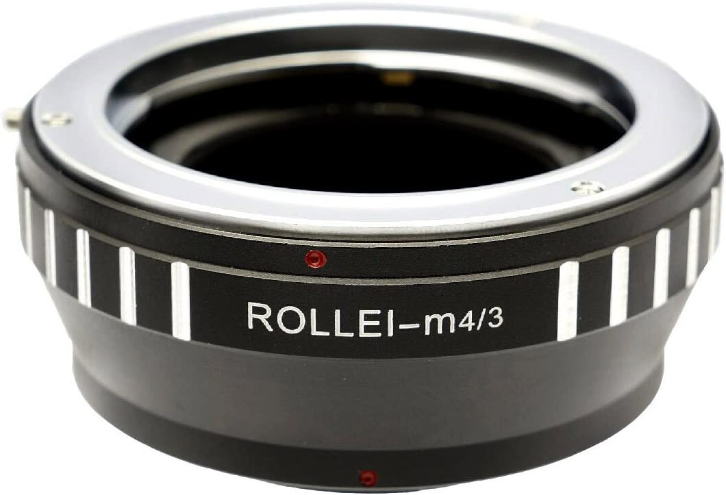 Photo Plus Rollei QB Lens Adapter for Olympus OM-D E-M5 Pen E-P5 E-P3 E-P2 E-P1 E-PM2 E-PM1 E-PL6 E-PL5 E-PL3 E-PL2 E-PL1s E-PL1