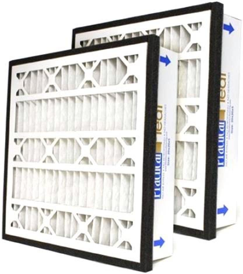"(2 Pack) Practical Pleat MERV 14-5"" Filter For 1"" Return Grille - (20x30x5) 61i8nLoZ9HL"