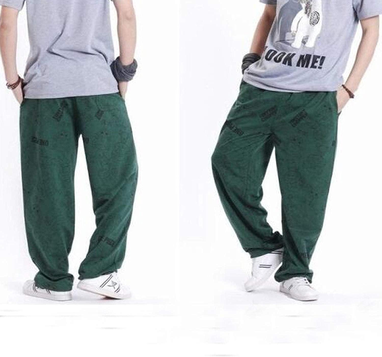 Cool Cj Men Loose Hip Hop Jogger Pants Sweatpants Long Pants Male Full Length Trousers